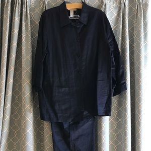 🌟EVAN-PICONE🌟2pc Navy pant/shirt. Awesome outfit